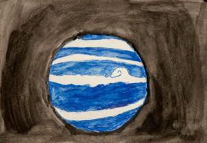рисунок планеты 2
