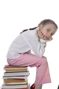 Ребенок устал учиться
